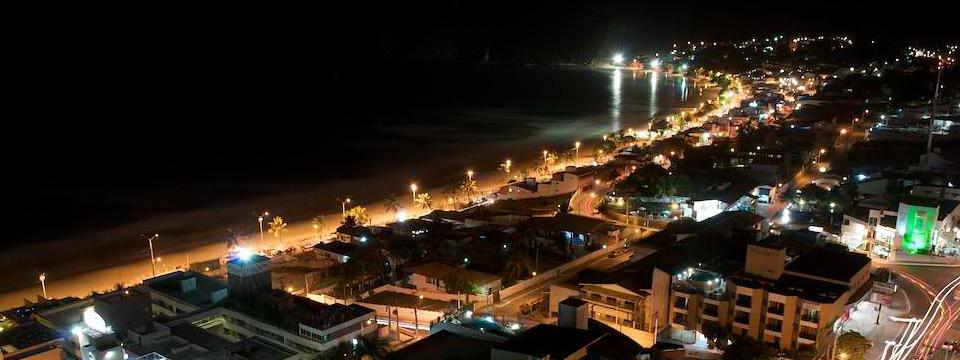 Natal Rio Grande do Norte Brasil ponta negra night