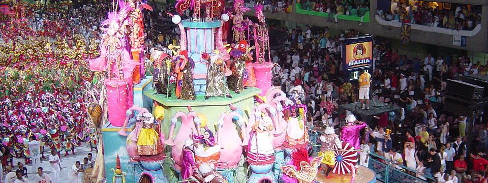 Brazil carnaval samba parade