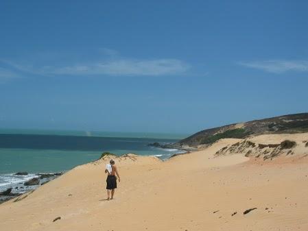 Natal beach resorts sand dune