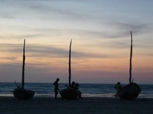 natal brasil beach sunset