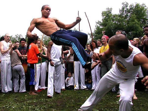 capoeira as sport