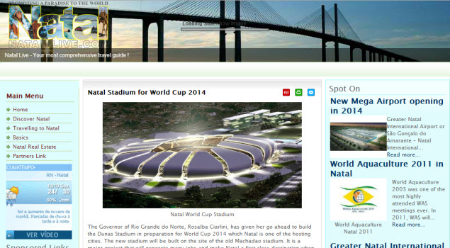 natal live world cup 2014