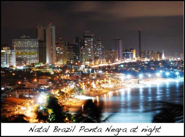 Natal Brazil Ponta Negra