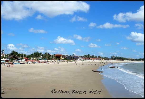 Praia da Redinha Natal Beach