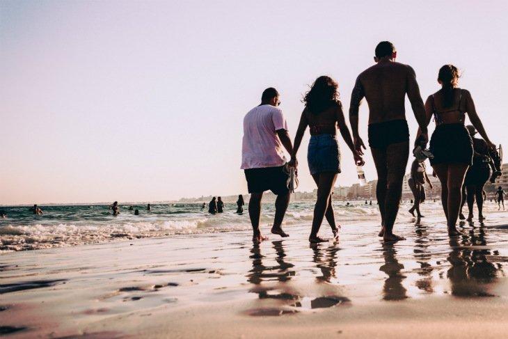 brazil beach walk