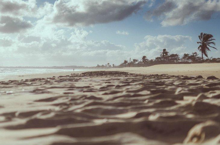 barra de tabatinga beach sand dunes