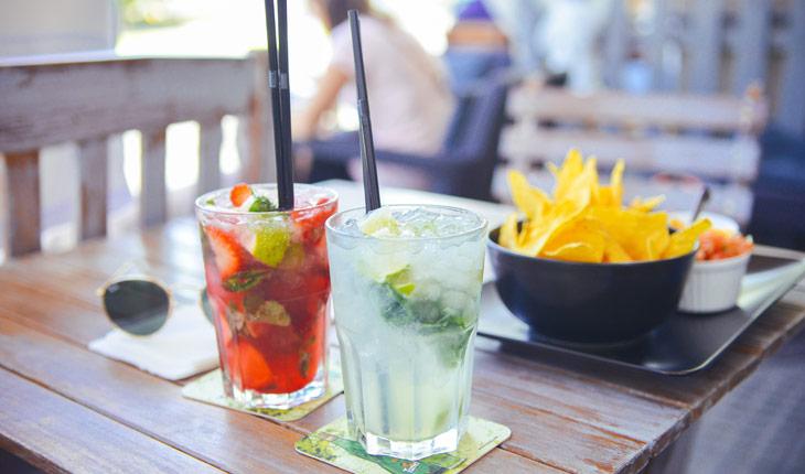Brazilian Drink Caipirinha and Other Popular Drinks in Natal