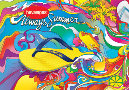 Brazilian Fashion Labels Havianas flip flops
