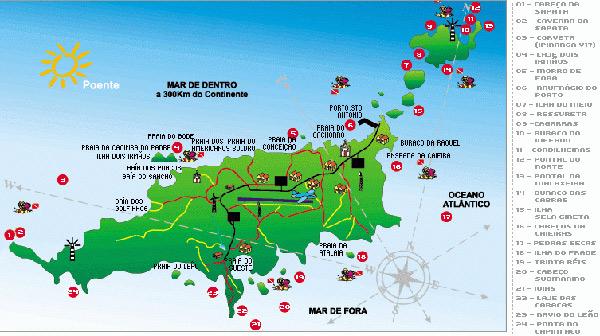 Fernando de Noronha Diving Sites