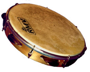 Pandeiro brazilian music instrument